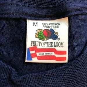 Fruit of the Loom Shirts - Vintage The Victoria Nautical Cruise T Shirt USA